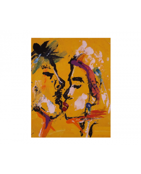 Colour of Love Canvas Art