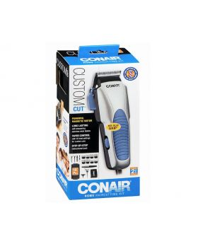 Conair 18 Piece Custom Cut Home Hair Cutting Kit