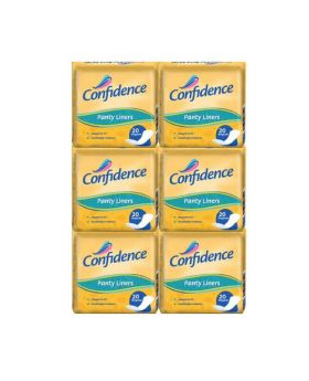 Confidence Panty Liners 6 Packs of 20