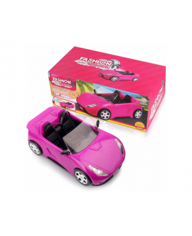 Convertible Car with Dolls