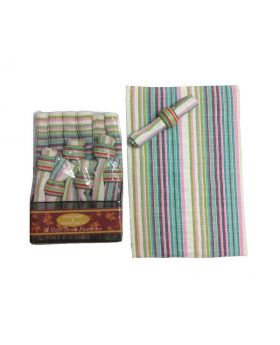 Cotton Handloom 6 Piece Placemat Set