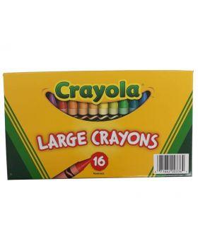 Crayola 16 Large Crayons