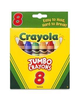 Crayola 8 Pack Jumbo Crayons
