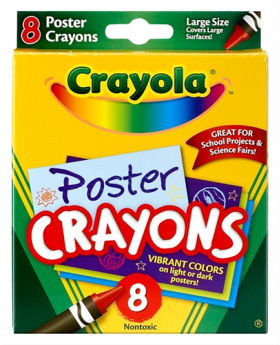 Crayola Large So Big Crayons 8ct