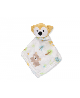 Cribmates Plush Blankie Pal - Yellow Multi, One Size