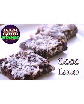 DAMGood Coco Loco Brownies - 6pk