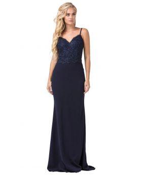 Dancing Queen 2620 3XL Navy Dress
