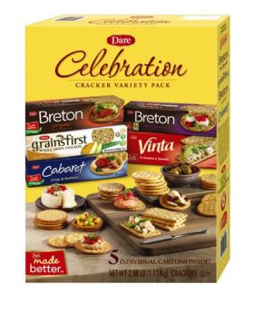 Dare Celebration Crackers Variety Pack 5 Pack
