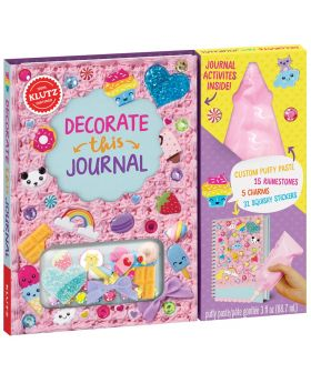 KLUTZ Decorate This Journal
