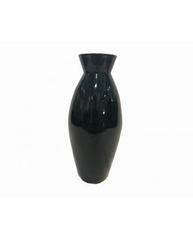 "Decorative Octa Vase in Green - 16"" Tall"
