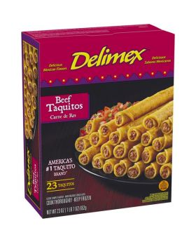 Delimex Beef Taquito 23 Pack
