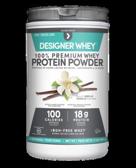 Designer Whey Vanilla Whey Protein Powder 2lbs