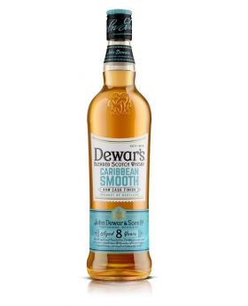 Dewar's Caribbean Smooth 8 Year Old 750 ml Gift Pack