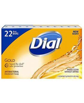 Dial Gold Antibacterial Bar Soap 4 Oz. 22 Pack