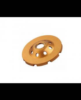 Diamond Cup Wheel, Double-Row 115x22.2mm