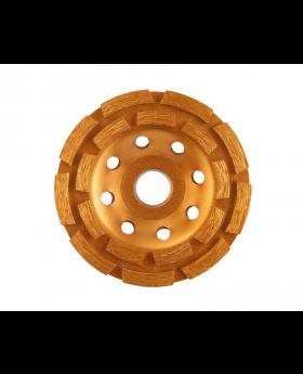 Diamond Cup Wheel, Double-Row 180x22.2mm