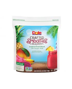 Dole Crafted Smoothie Blends Tropical Fruit Blend 2.5 Lbs.