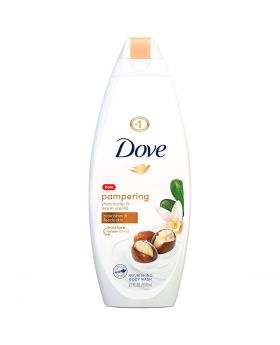 DOVE SHEA BUTTER BODY WASH 22OZ