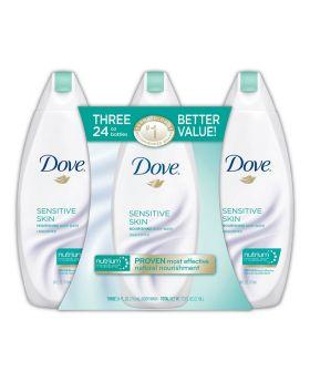 Dove Nourishing Body Wash 3 Pack 24 oz