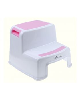 Dreambaby 2-Up Step Stool, Pink