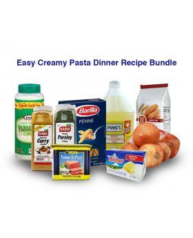Easy Creamy Pasta Dinner Recipe Bundle