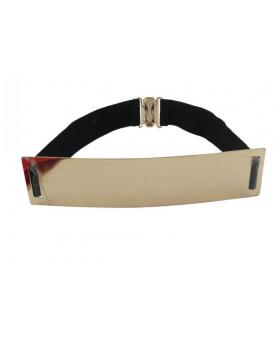 Elastic Mirror Metal Waist Belt