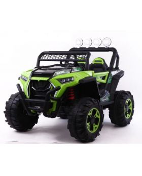 Electric Jeep Green