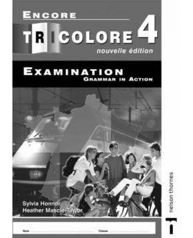 Encore Tricolore 4 Nouvelle Edition Examination Grammar in Action