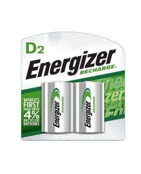 Energizer NiMH Rechargeable D Batteries