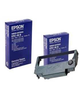 Genuine Epson ERC38B Black Ribbon