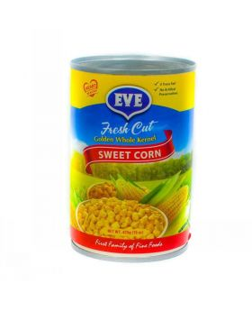 Eve Golden Whole Kernel Sweet Corn 425 g