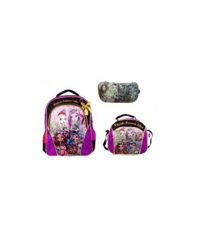 Ever After High 3pc Bagpack Set