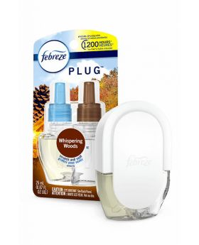 Febreze PLUG  and Whispering Woods oil refill