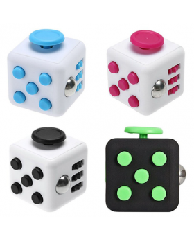 Fidget Cube Assorted Colours
