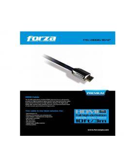 Forza Premium FAV-HD06AP - HDMI cable - HDMI (M) to HDMI (M)