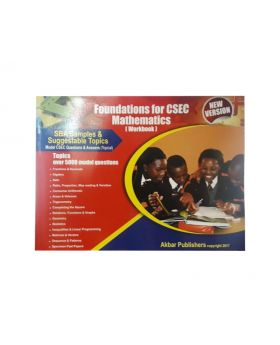 Foundations for CSEC Mathematics Workbook New Version by Akbar Publishers