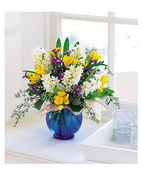 Fragrant Spring Floral Arrangement