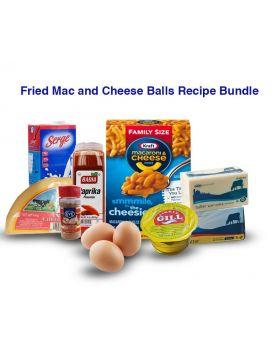 Fried Mac and Cheese Balls Ingredients Bundle
