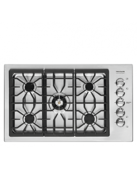 Frigidaire Professional 36 Inch Gas Cooktop top view