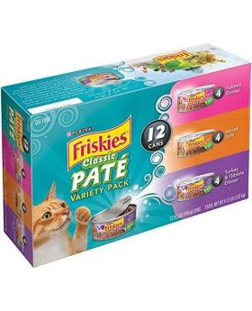 Friskies Variety Pack 12x5.5oz Tin