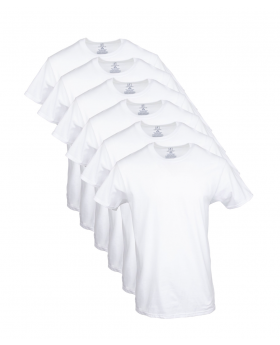 T-Shirts, Crew Neck Men's - George , 6 Pack