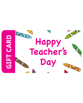 Happy Teachers Day  Gift Card $2,000.00 - $5,000.00