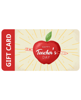 Happy Teachers Day Gift Card Apple $6,000.00 - $10,000.00