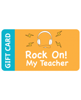 Rock On My Teacher $16,000.00 - $20,000.00