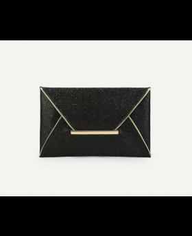 Glitter Envelope Clutch Purse