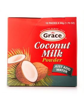 Grace Coconut Milk Powder 12pk/50g