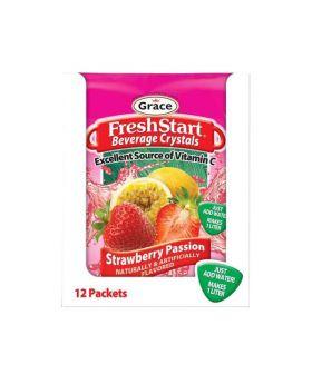 Grace Fresh Start Strawberry Passion 12 x 34g Pack