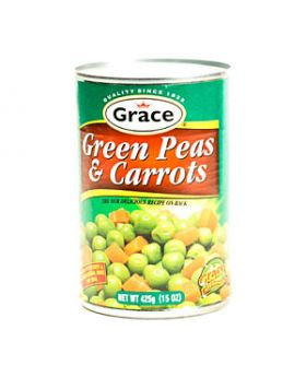 Grace Green Peas and Carrots 425g