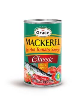 Grace Hot & Spicy Mackerel 5 Pack