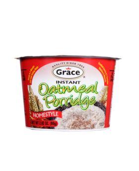 Grace Instant Oatmeal Porridge 80g (Homestyle)